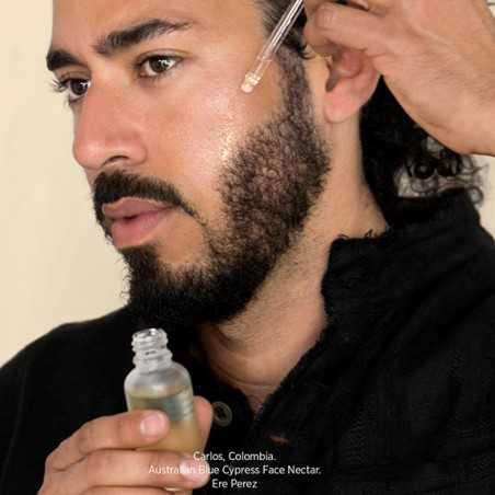 Ere Perez - Soin du visage Homme revitalisant et hydratant au Cyprès Bleu - Vegan & Naturelle - Cosmétiques Vegans