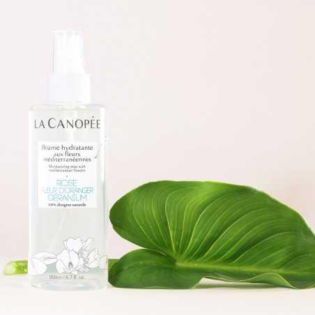 La Canopée - Brume hydratante aux fleurs méditerranéennes - Vegan & 100% naturelle - Select store Cosmétiques Vegans