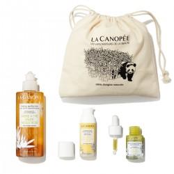La Canopée - Coffret Soin Visage Spécial Peau Mixte - Vegan & 100% Naturelle - Select store Cosmétiques Vegans