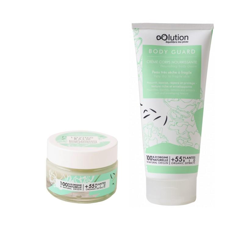 oOlution - Coffret Duo Soins Corps Cocooning - Soin nourrissant vegan, naturel & bio - Select store Cosmétiques Vegans