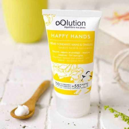 oOlution - Crème soin mains & ongles - Glow Up - Vegan, naturel & bio - Select store éthique Cosmétiques Vegans