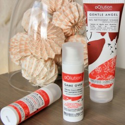 oOlution - Coffret Trio Soins Visage Bio - Peau Mixte à Grasse - Vegan, naturel & bio - Select store Cosmétiques Vegans