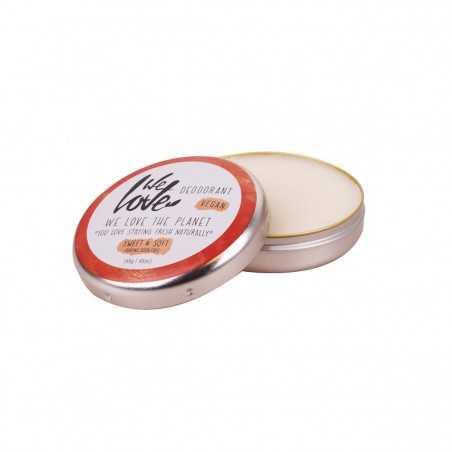 We Love the Planet - Déodorant Creme Sweet & Soft - Zéro déchet, Vegan & 100% Naturelle - Select store Cosmétiques Vegans