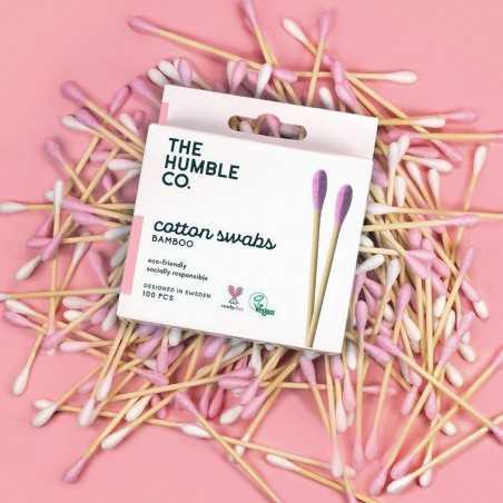 The Humble - Coton-Tiges Biodégradables - Plastic Free & Vegan - Select store Cosmétiques Vegans