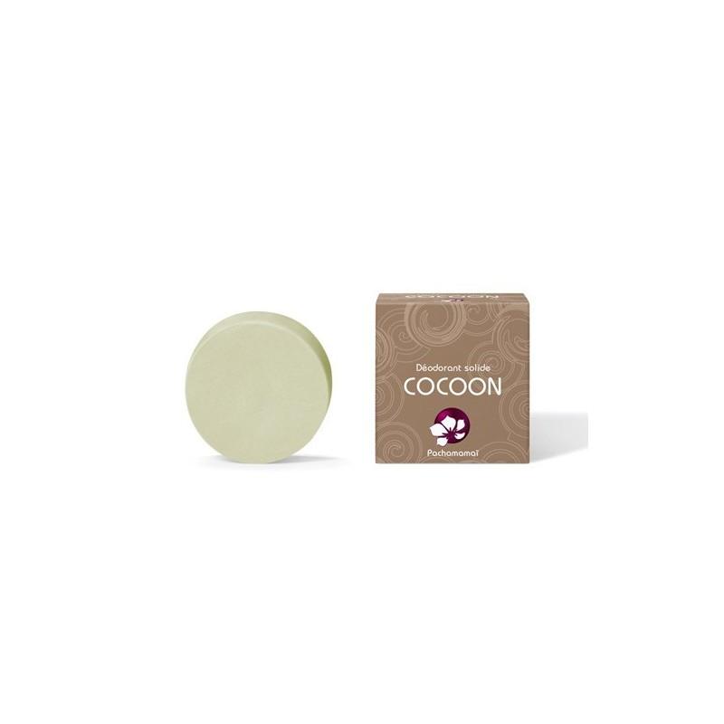 Pachamamaï - Déodorant Solide Cocoon - Sans huile essentielle - Vegan & Zéro déchet -Select Store Cosmétiques Vegans