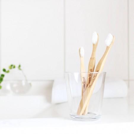 Brosse à dent Bambou - Adulte - Medium - 2 Coloris The Humble Co. - 13