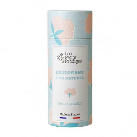 Les Petits Prodiges - Déodorant stick - Fleur de Coton - Vegan & Naturel - Select store éthique Cosmétiques Vegans