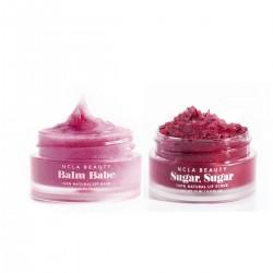 NCLA - Duo soin des lèvres Vegan & Naturel - Gommage & Baume - Cerise - Select store éthique Cosmétiques Vegans
