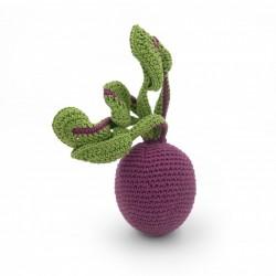 Myum - Veggie Toys - Hochet betterave - Bio & Vegan - Select store éthique Cosmétiques Vegans