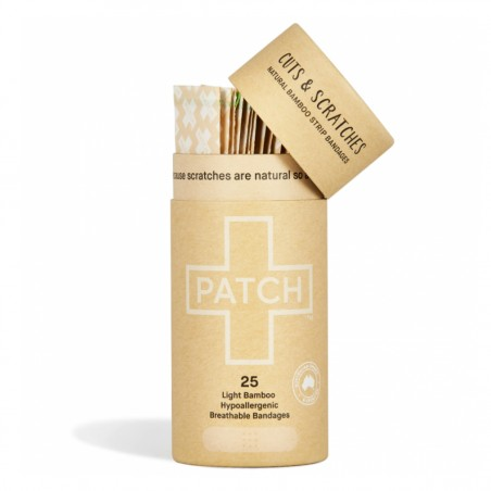 Patch Nutricare - Pansement Hypoallergénique - Bambou - Bio & Cruelty-Free - Select store éthique Cosmétiques Vegans