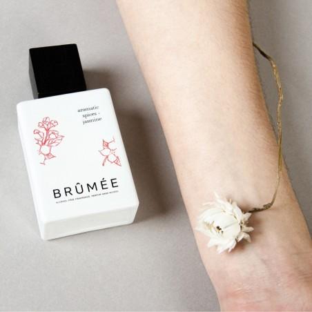 Brûmée - Parfum unisexe - Epices et Jasmin - Sans alcool & Naturel - Select store éthique Cosmétiques Vegans