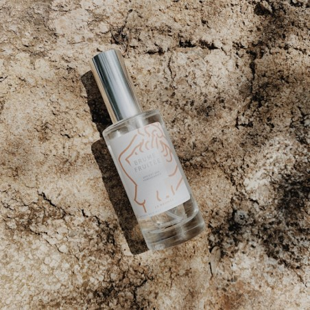 Brûmée - Brume pour cheveux - Abricot & Grenade - Sans alcool & Naturel - Select store éthique Cosmétiques Vegans