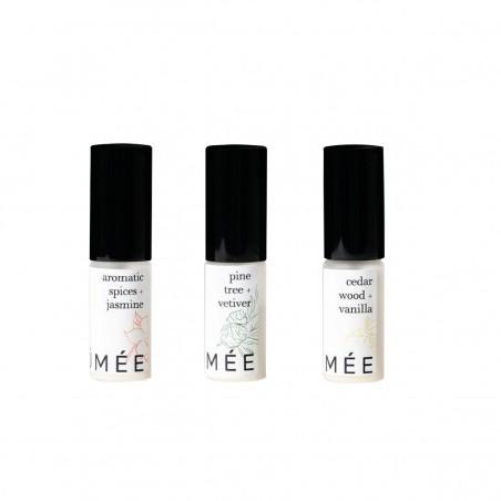 Brûmée - Kit découverte - 3 Echantillons - Parfums unisexes - Sans alcool & Naturel - Select store éthique Cosmétiques Vegans