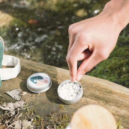 Sloe Nature - Dentifrice solide rechargeable - Zéro déchet & Made in France - Select store éthique Cosmétiques Vegans