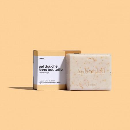 Unbottled - Gel douche solide sans bouteille - Cosmétique Solide & Zéro déchet - Select store éthique Cosmétiques Vegans