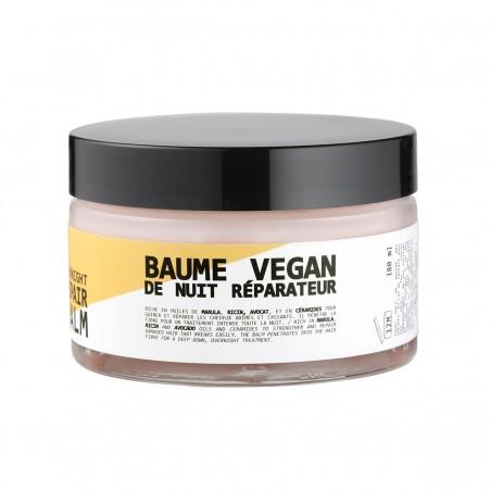 Cut by Fred - Masque & Soin Baume de nuit pour Cheveux - Vegan & Made in France - Select store éthique Cosmétiques Vegans
