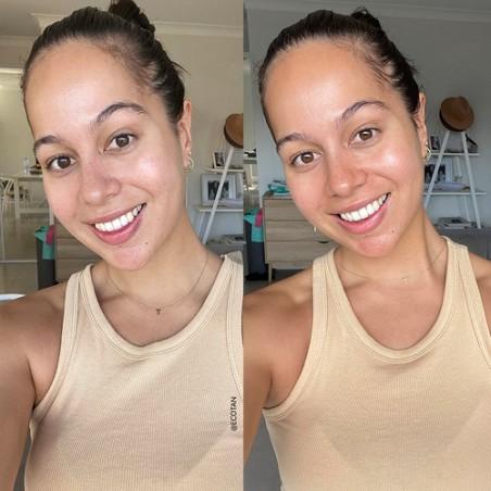 Eco By Sonya - Eau de bronzage visage - Effet progressif - Vegan, Naturel & Bio - Select Store Cosmétiques Vegans