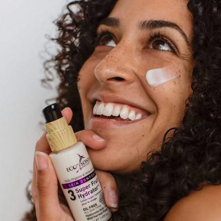 Eco By Sonya - Routine Visage Gommage Lotion hydratante Visage sans huile - Cosmétique Vegan, Naturelle & Clean